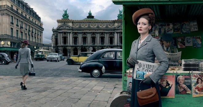 Marianne Monnestier Paris 1954, © Blaise Arnold