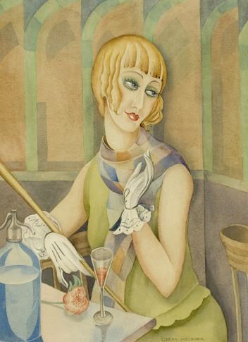 Lili Elbe par Gerda Wegener
