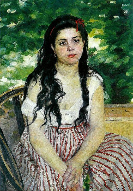 Pierre Auguste Renoir, Lise ou la Bohémienne, 1868